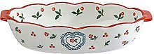 ciliegia Ceramica pirofila da forno Teglia
