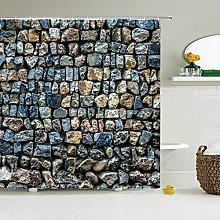 Ciottoli interessanti tende da bagno moderni