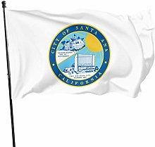 City of Santa Ana 3x5 Foot Flag Bandiera da