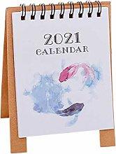 CJFael Calendario del Piano di Capodanno 2021,