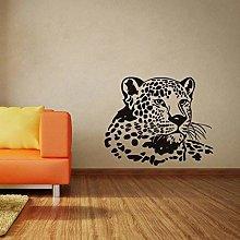 Classico Testa Di Leopardo Adesivi Murali