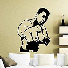 Clay Boxer Adesivo Boxer Boxe Sport Vinile Adesivo