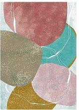 Cliccandoshop - Quadro Colors (125 x 85 x 4 cm)