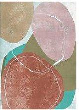 Cliccandoshop - Quadro Pastel Colors (125 x 85 x 4
