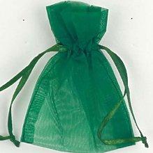 Club Green Organza Sacchetto, Verde Oliva, 100x