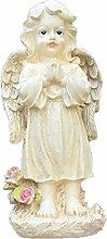 CMmin Angelo di Preghiera Statua in Piedi Angelo