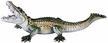 CMmin Coccodrillo Scultura Statua Swamp Beast