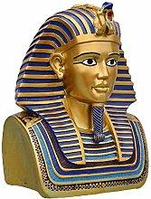 CMmin Egizia Busto Ornamento Tutankhamon con