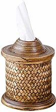 COLiJOL Napkin Organzier Tissue Tissue Box Cover