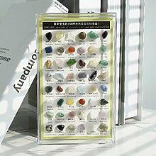 Collezione di rocce e minerali, 48 pezzi di pietre