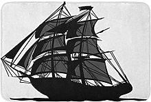Coloniale vela nave pirata vela barca