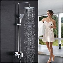 ®Colonna doccia ad altezza regolabile con display