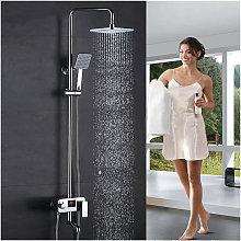 Colonna doccia ad altezza regolabile con display
