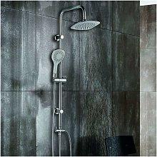 Colonna doccia con deviatore soffione 20x20 e