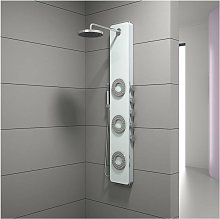 colonna doccia con getti idromassaggio, 150x25 cm