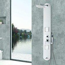 Colonna doccia idromassaggio bianca modello