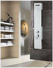 Colonna doccia idromassaggio con effetto cascata,