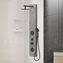Colonna doccia idromassaggio in acciaio inox 3