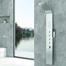 Colonna doccia idromassaggio in acciaio modello