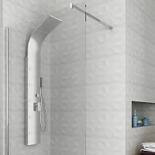 Colonna doccia idromassaggio pannello doccia