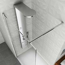 Colonna doccia idromassaggio pannello soffione