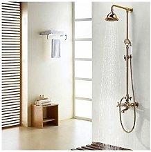 Colonna doccia tradizionale a campana in finitura