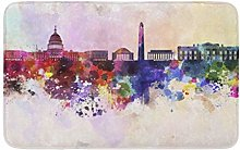 Colorato astratto Washington Dc Skyline In