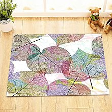 Colorful foglia vena modello Indoor antiscivolo