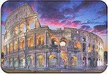 Colosseum Roma Italia Paesaggio notturno Tappetino