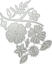 ColourQ Bellissimi fiori metallo fustelle stencil