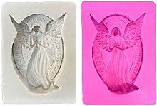 ColourQ - Stampo in silicone a forma di angelo in