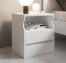 Comodino di design Tamy bianco