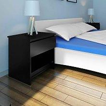Comodino moderno camera da letto con 1 Cassetto