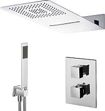 Composizione doccia con soffione 50x22 con