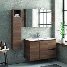 Composizione mobili bagno 100cm installazione