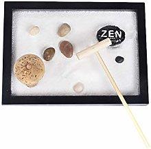 Comtervi Mini Zen Garden, Zen Sand Garden per