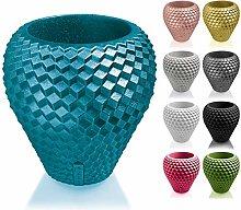 Concrette - Vaso per fiori in cemento, Ø 10 cm,