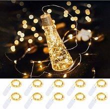 Confezione da 10 luci stringa da 2 m 20 luci