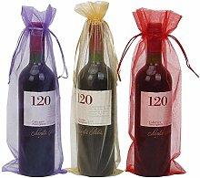 Confezione da 30 sacchetti da vino, 13,5 x 37,3