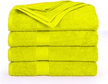 Confezione da 4 asciugamani da bagno (80 x 140
