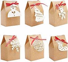 Confezione Regalo Natale (24pz) - Scatole Regalo