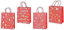 Confezione Regalo Sacchetti di Natale Scatole di