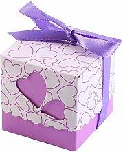 Confezione regalo, scatola di caramelle, 50 pezzi
