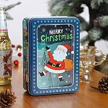 Confezioni Regalo Natale ,Latta Vuota di Latta di