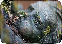 CONICIXI Tappeto Antiscivolo da Bagno Giardino