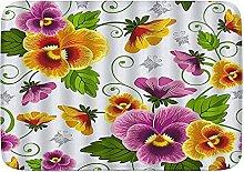 CONICIXI Tappeto Antiscivolo da Bagno Pansy Flower