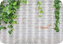 CONICIXI Tappeto Antiscivolo da Bagno Rustico Muro