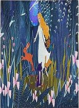Coniglietto Blu Bellezza Coniglio Bandiera del