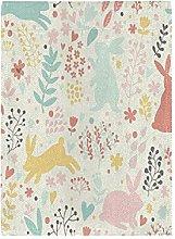 Coniglio Coniglietto Colorato Cartone Animato