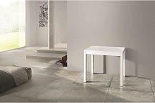 Consolle allungabile bianca 90x50cm - 90-300cm